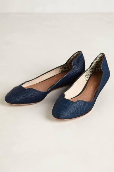 56256bca8 Izabel Mini Wedges by Matt Bernson Cute Flats, All About Shoes, Navy Wedges,