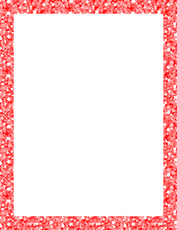Red Glitter Border Borders And Frames Page Borders Borders For Paper