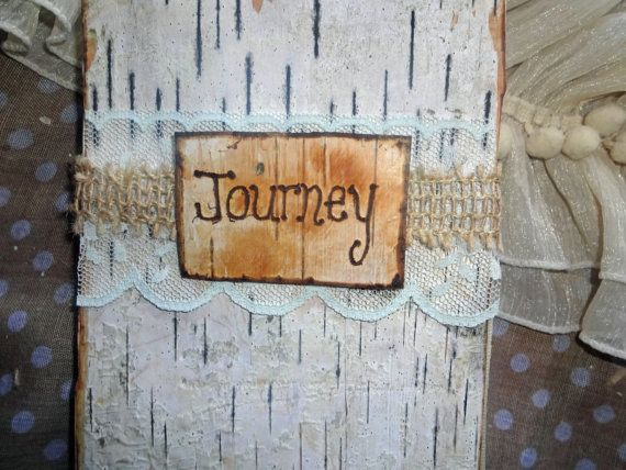 Birch Bark & Burlap Journey Travel Journal