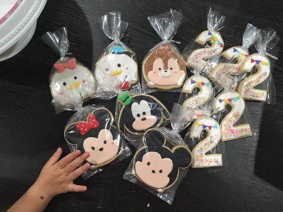 Tsum Tsum Ideas Para Fiestas: Tsum Tsum Cookies By Busybee0715 On Etsy