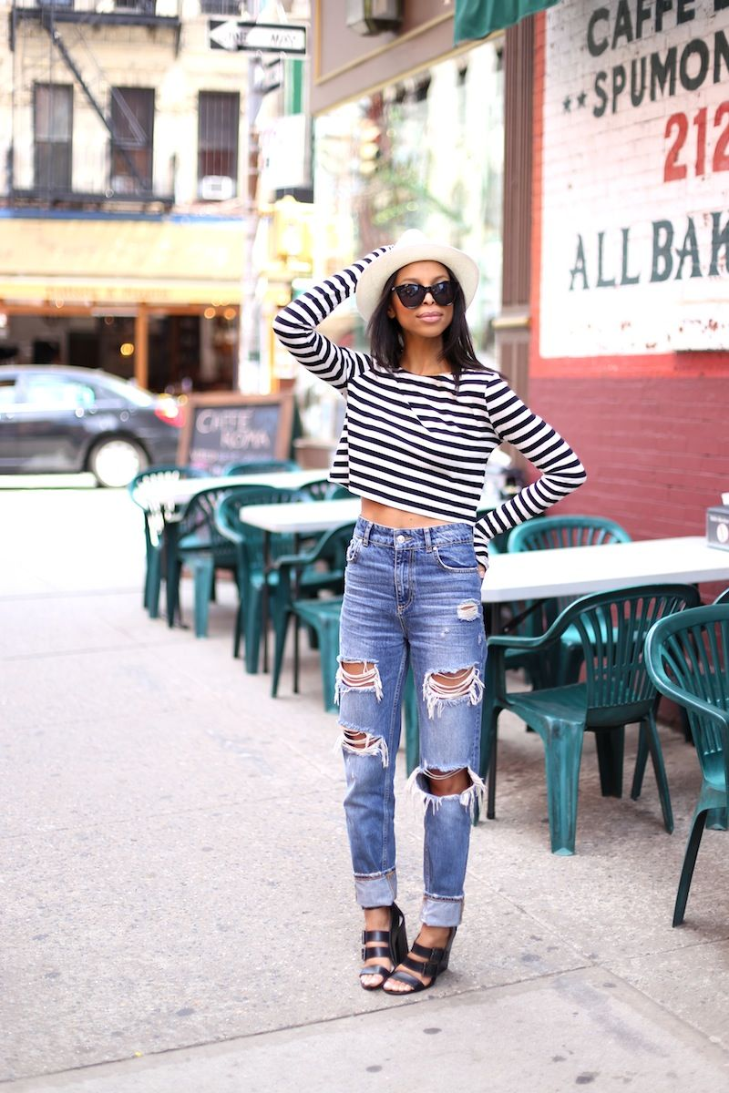 yes to high-waisted boyfriend jeans!   my style   Pinterest ...
