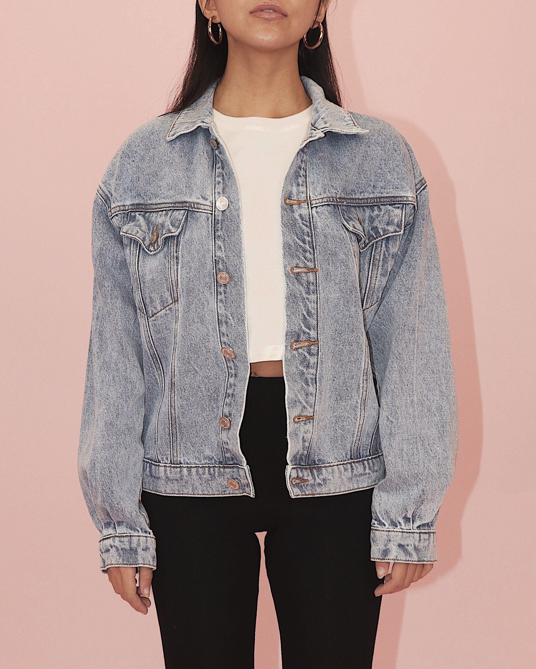 Girlfriend Jeans Jean Jacket Outfits Denim Jacket Jackets