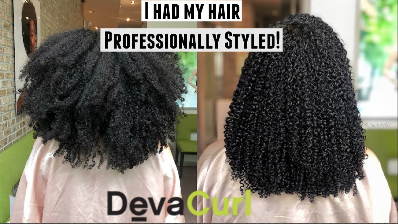 We Visited A Devacurl Salon Styling Sister S Devacut More Natural Hair Youtube Natural Hair Styles Curly Hair Styles Natural Hair Salons