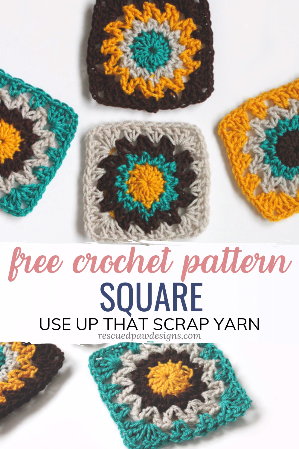 Photo of Free Crochet Square Pattern
