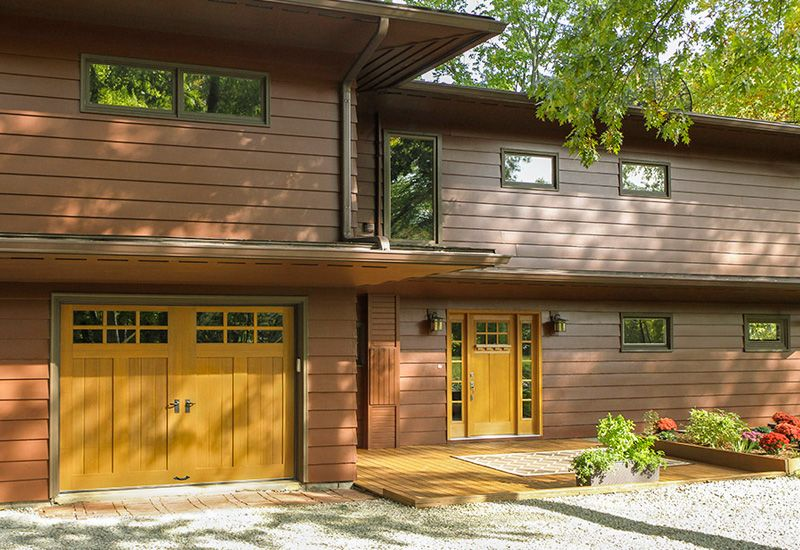 Garage Door Styles - Carriage House Garage Doors,  Contemporary ... #CurbAppealContest