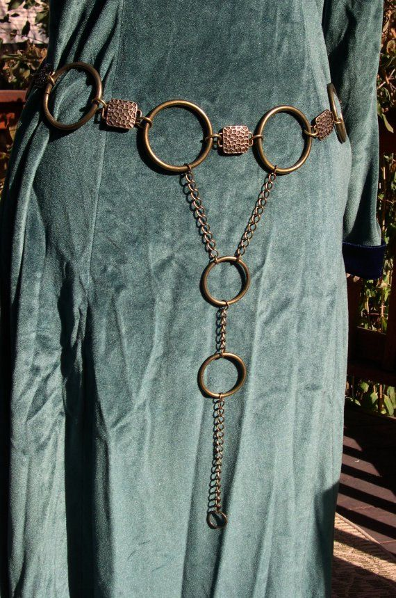 Gold Ring Medieval Belt Girdle - I think I can make this or something very close!