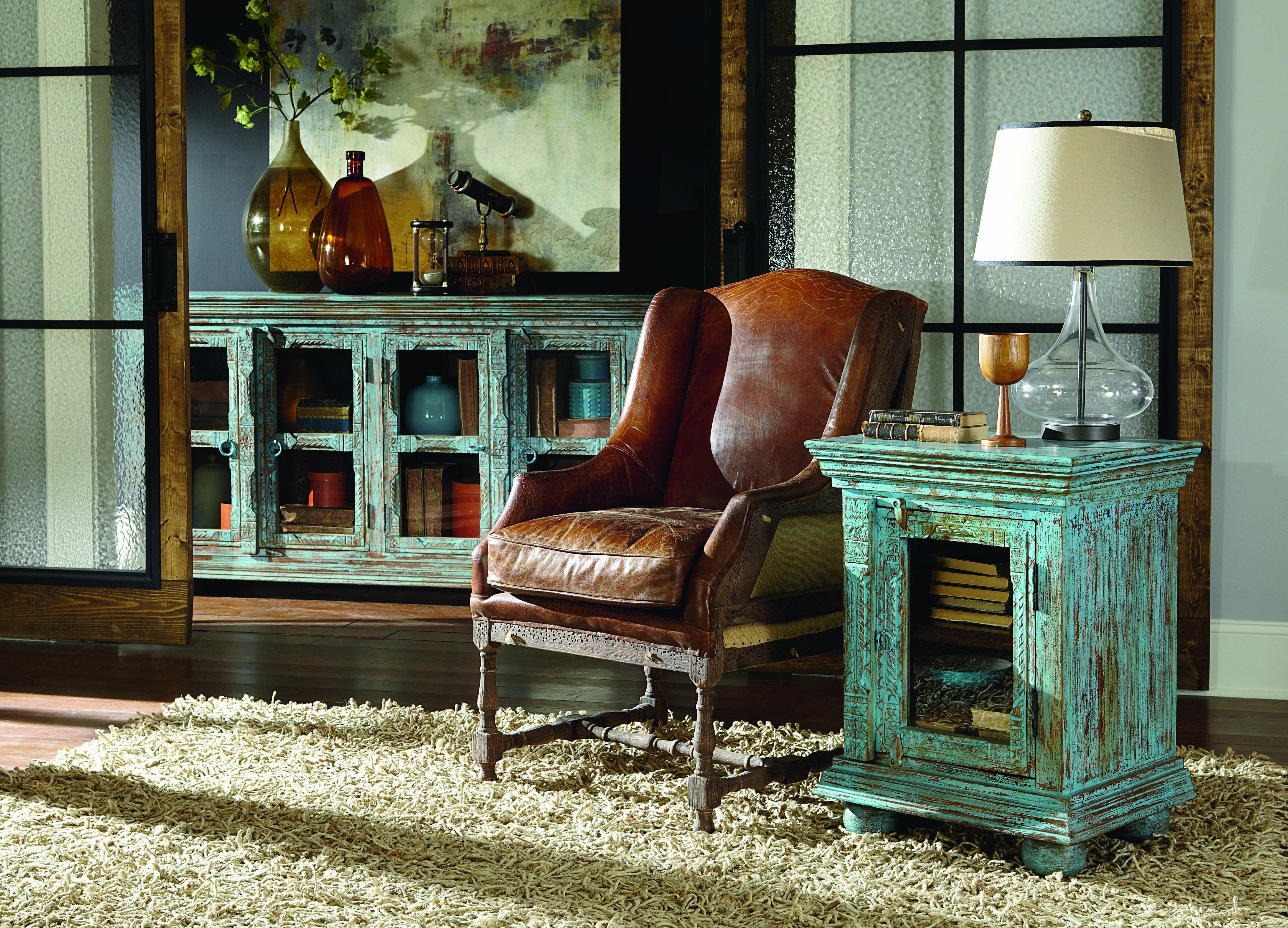 Delicious tobacco leather chair with stunning ...
