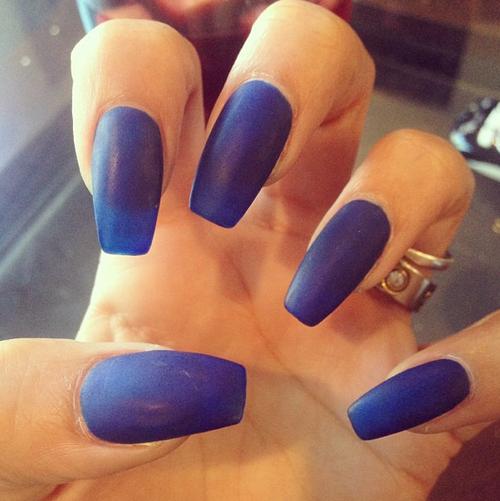 Navy blue nails. | Pretty N A I L S | Pinterest | Navy blue nails ...