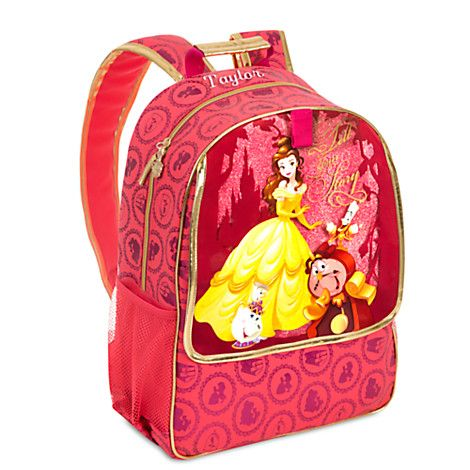 Belle Backpack - Personalizable | Disney Store | Gear Up ...