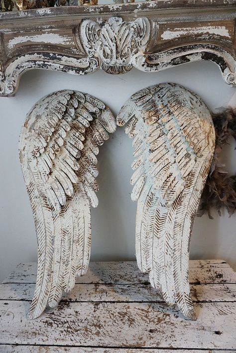 ailes d 39 anges shabby chic my angels pinterest engelchen engelsfl gel und fl gel. Black Bedroom Furniture Sets. Home Design Ideas