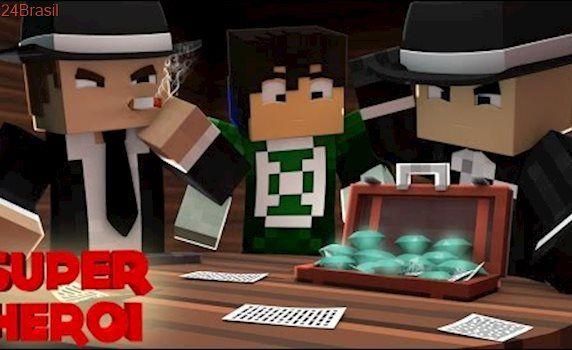 Minecraft : SUPER-HERÓI - OS DIAMANTES DA MÁFIA ! #57