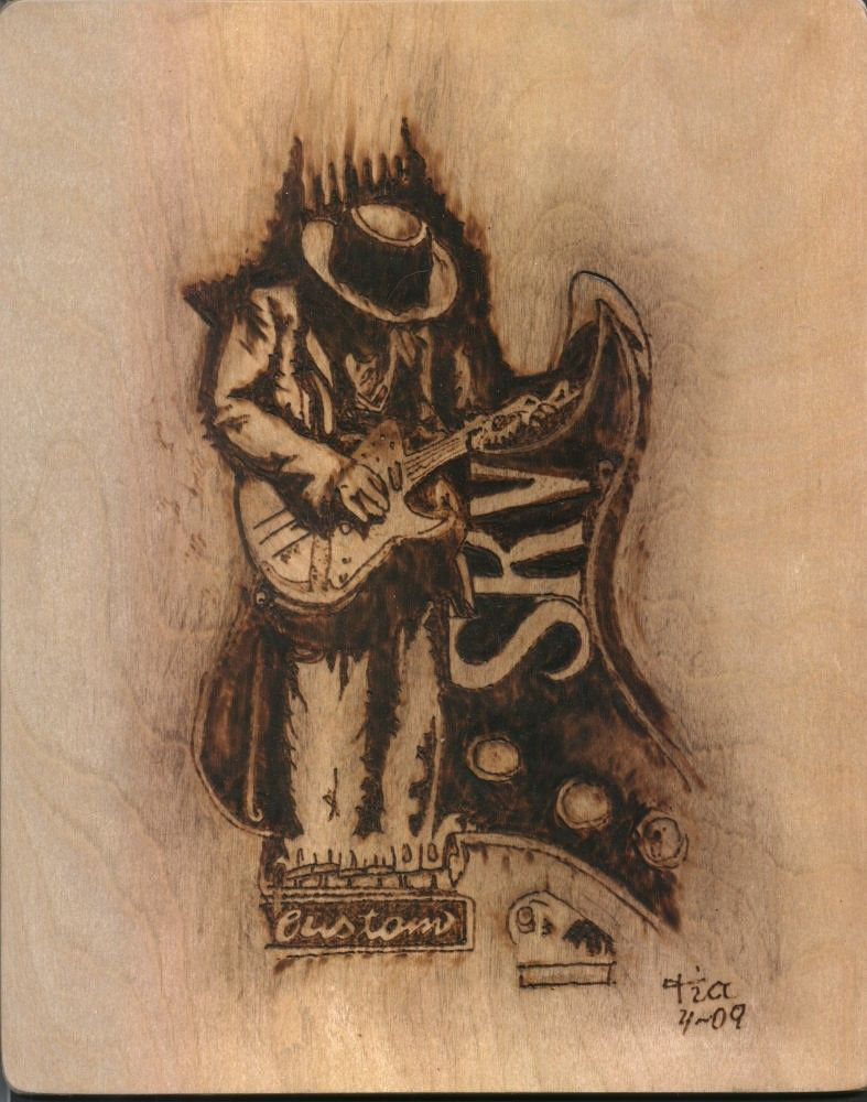 Stevie ray vaughn i just love his music and had to for Stevie ray vaughan tattoo