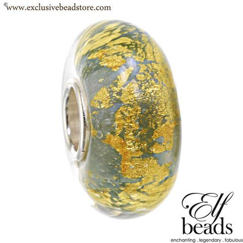 Elfbeads arctic earthbead Glass Bead.