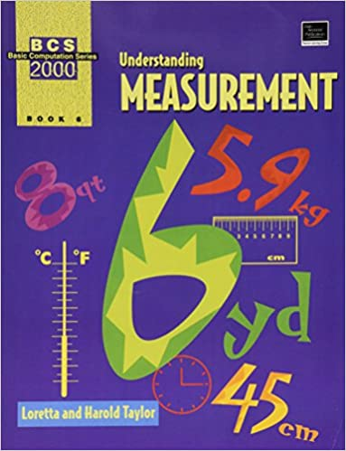 Basic Computation Series 2000 Understanding Measurement Bassic Computation Series Book 6 Dale Seymour Publica Understanding Book Club Books Kindle Reading