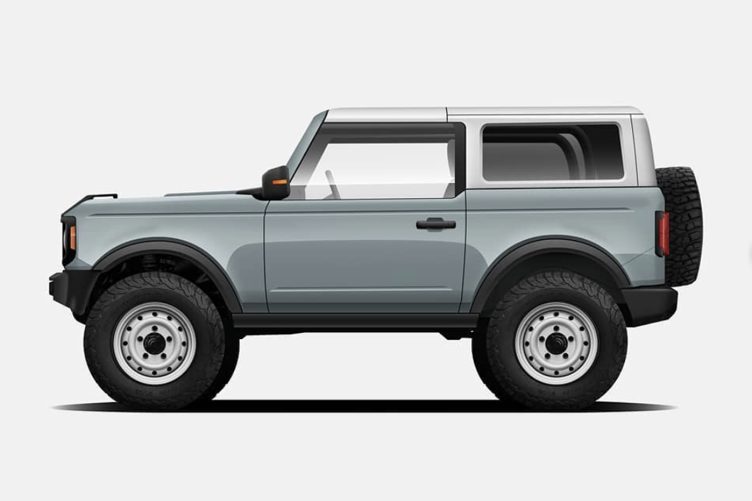 2021 Ford Bronco Cactus Grey Google Search Ford Bronco Ford Bronco For Sale Ford Ranger Pickup