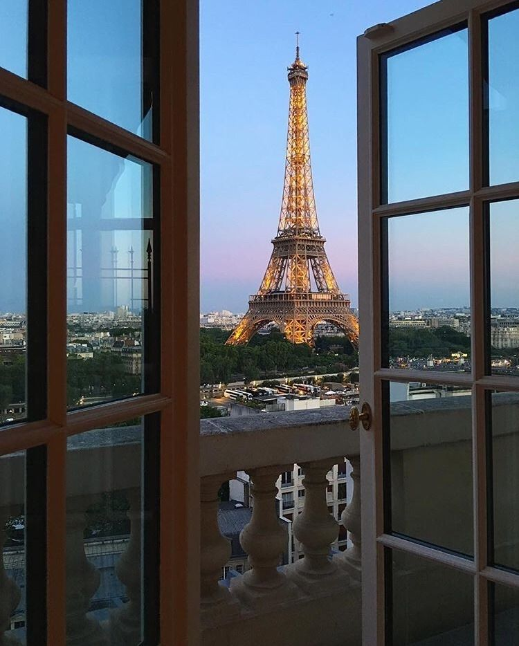 Bonne Soirée De Paris Reine Paris Nuit Paris Ville Tour Eiffel