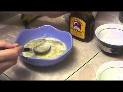 """""""Natural Egg Yolk Banana Milk Honey Mask for For Dry Damaged Hair"""""""