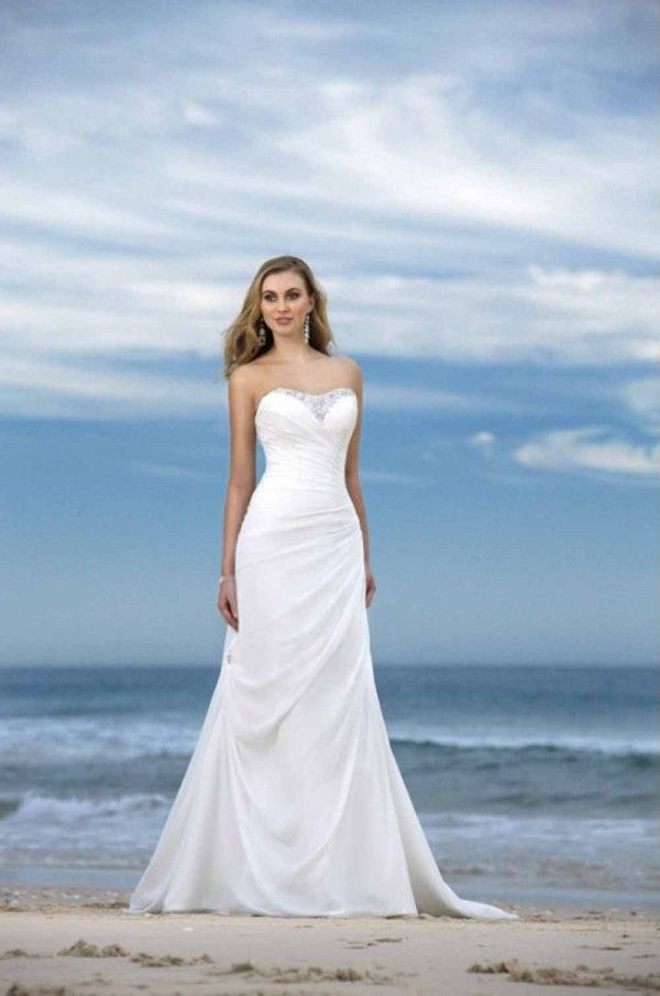 Informal Beach Wedding Casual Dresses Loveitsomuch