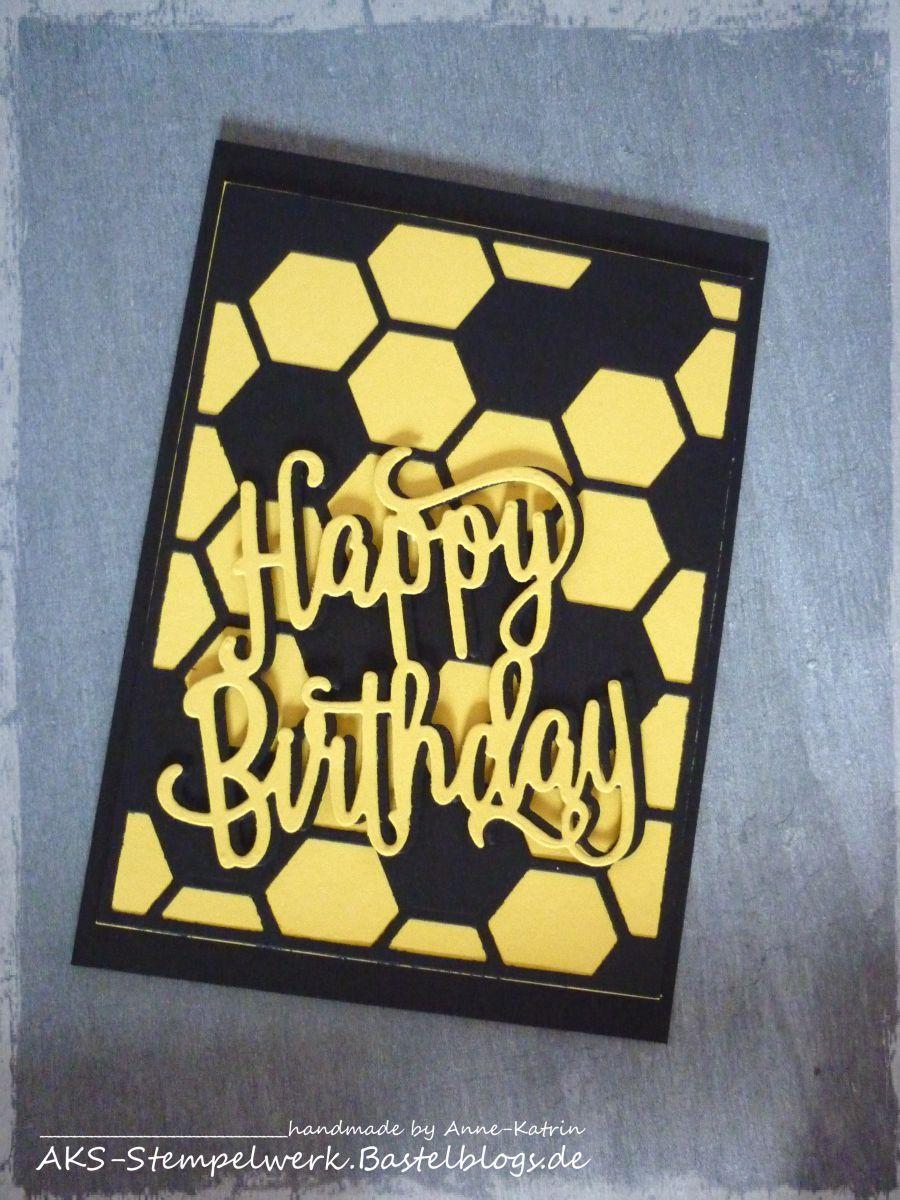 Bvb Geburtstagskarte Bvb Geschenk Geburtstagkarten Basteln Und
