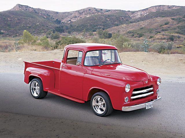 55 Dodge Truck Classic Cars Trucks Dodge Pickup Classic Cars