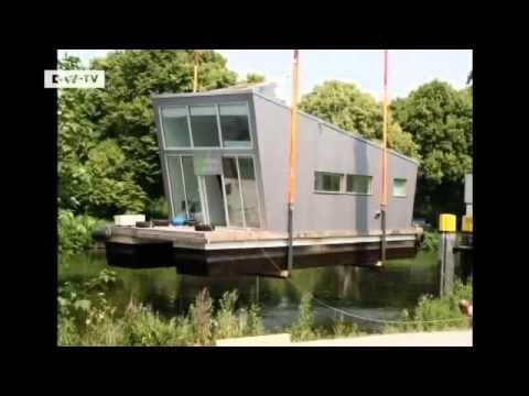 Wohnen im Hausboot in Oldenburg euromaxx YouTube