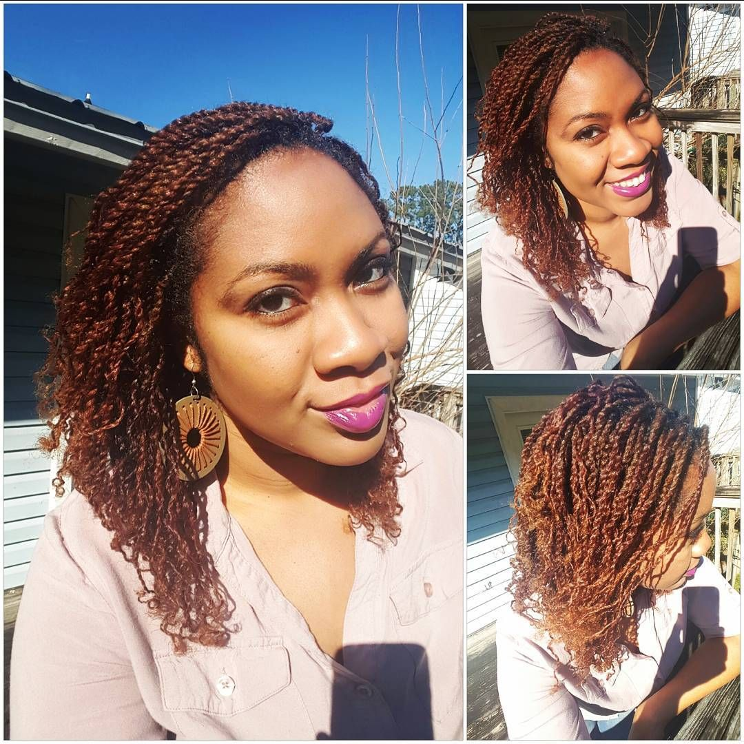 I M Starting The Protective Style Challenge With Protectiveprincess Off With Mini Twists After 11 Hours I M Finally Done Now I M Ready For My Updo Myfavor