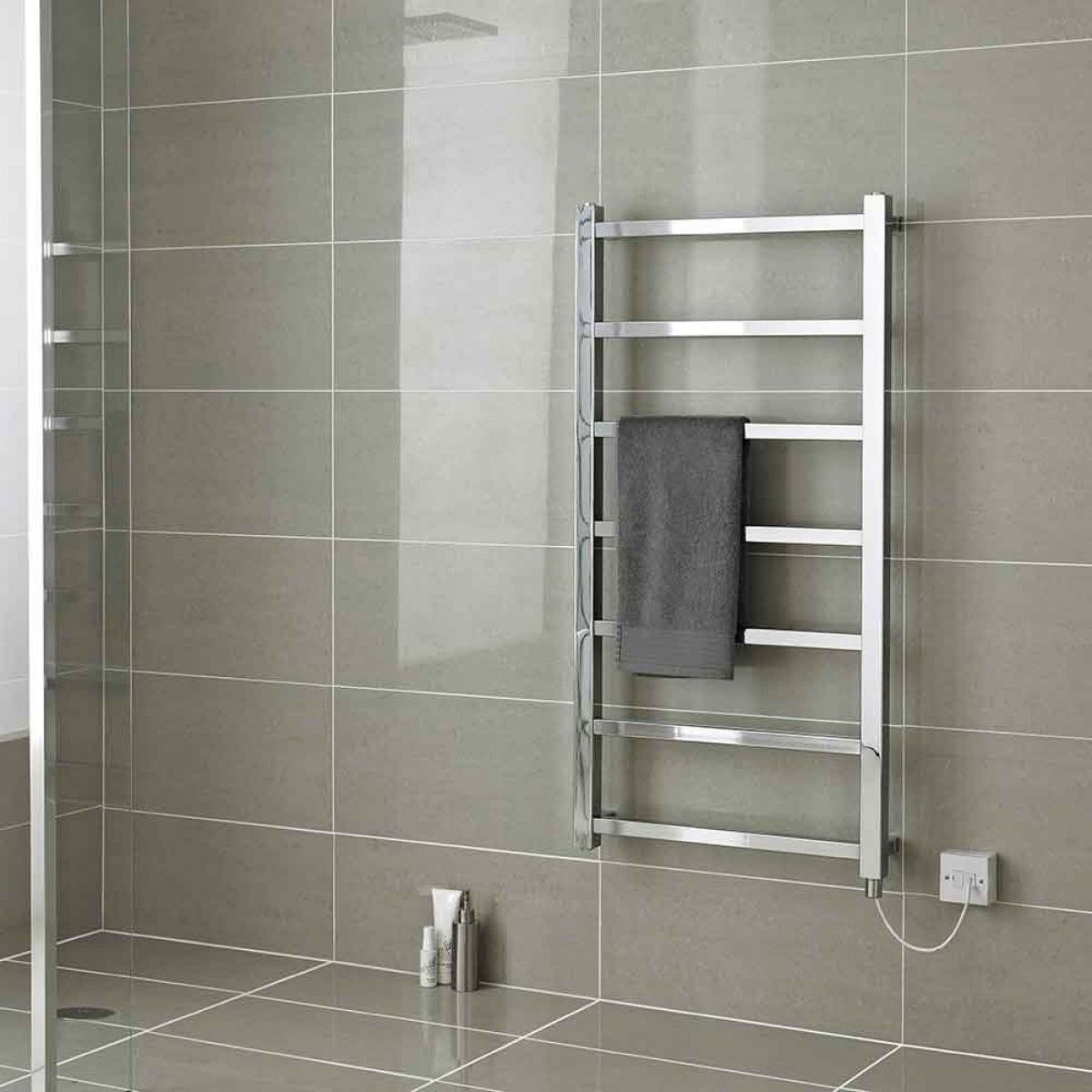 There Are Many Reasons To Choose An Electric Radiator You Get Full Control Over The Exact Temperature O Bathroom Radiators Redesign Small Bathroom Towel Rail