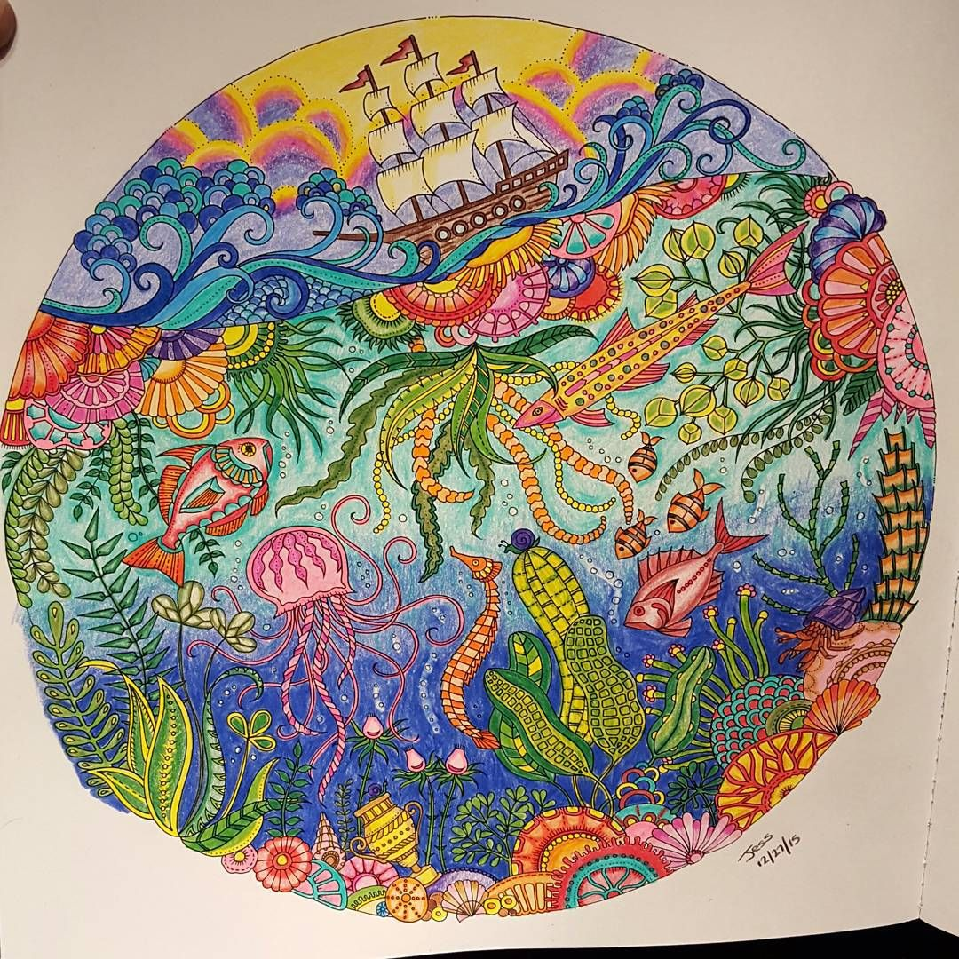 Coloring Books For Adults 3 Lostocean