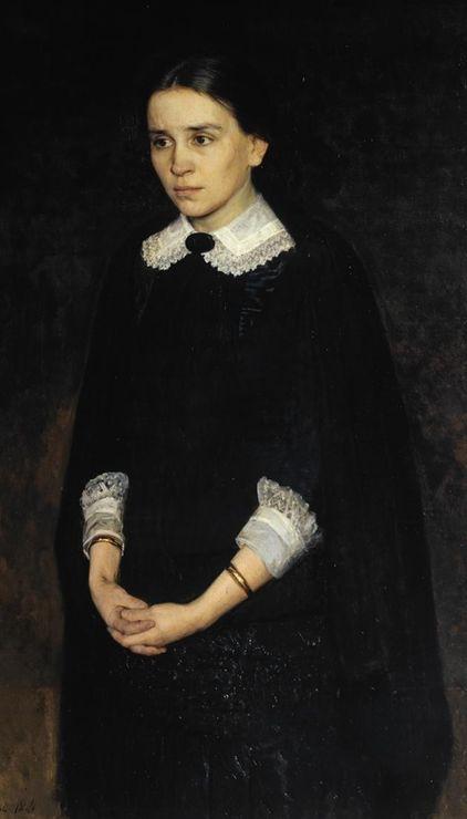 Nikolai Yaroshenko, Portrait of Actress Pelageya Strepetova, 1884, Tretyakov Gallery