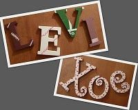 Letters for the kids rooms