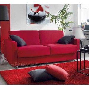 756 595 sofa cama atenas con brazos de 10 cm tipo - Sofa cama tipo libro ...
