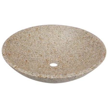 Bathroom Sinks Walmart mr direct round tan granite vessel sink - walmart | bathroom
