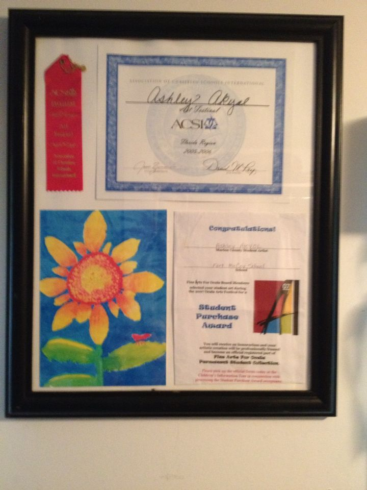 proud parent of piece sold to the Appleton museum of art.