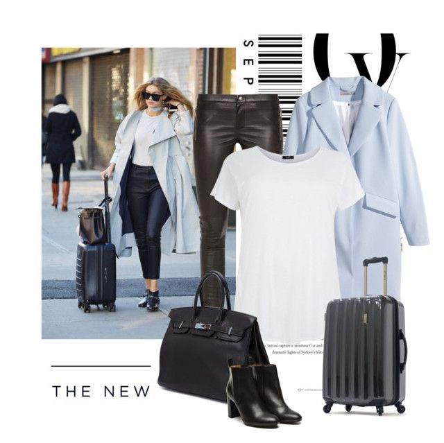 """TRAVEL STYLE \ GIGI HADID"" by youarenotwelcome ❤ liked on Polyvore featuring Gucci, H&M, Hermès, Stephane Kélian, Envi, American Eagle Outfitters, travel, travelinstyle and gigihadid"