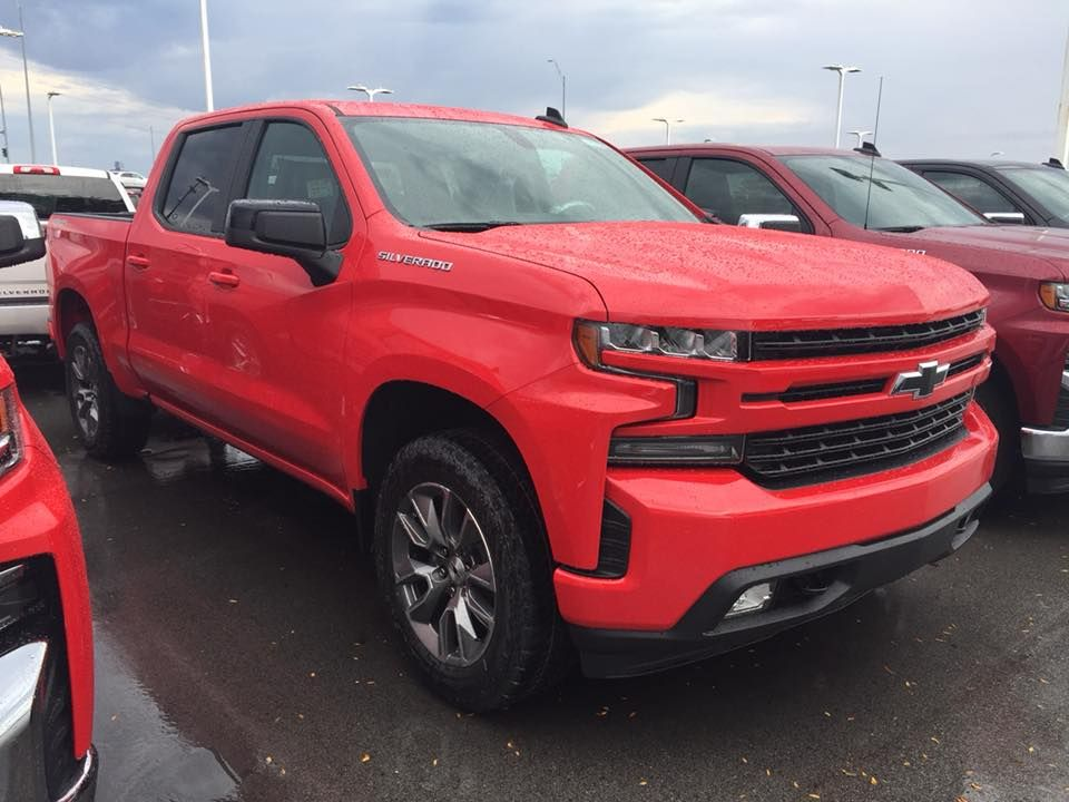 2019 Chevy Silverado 1500 Rst Is New Chevy