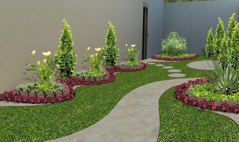 diseño de jardines pequeños con asador - Buscar con Google