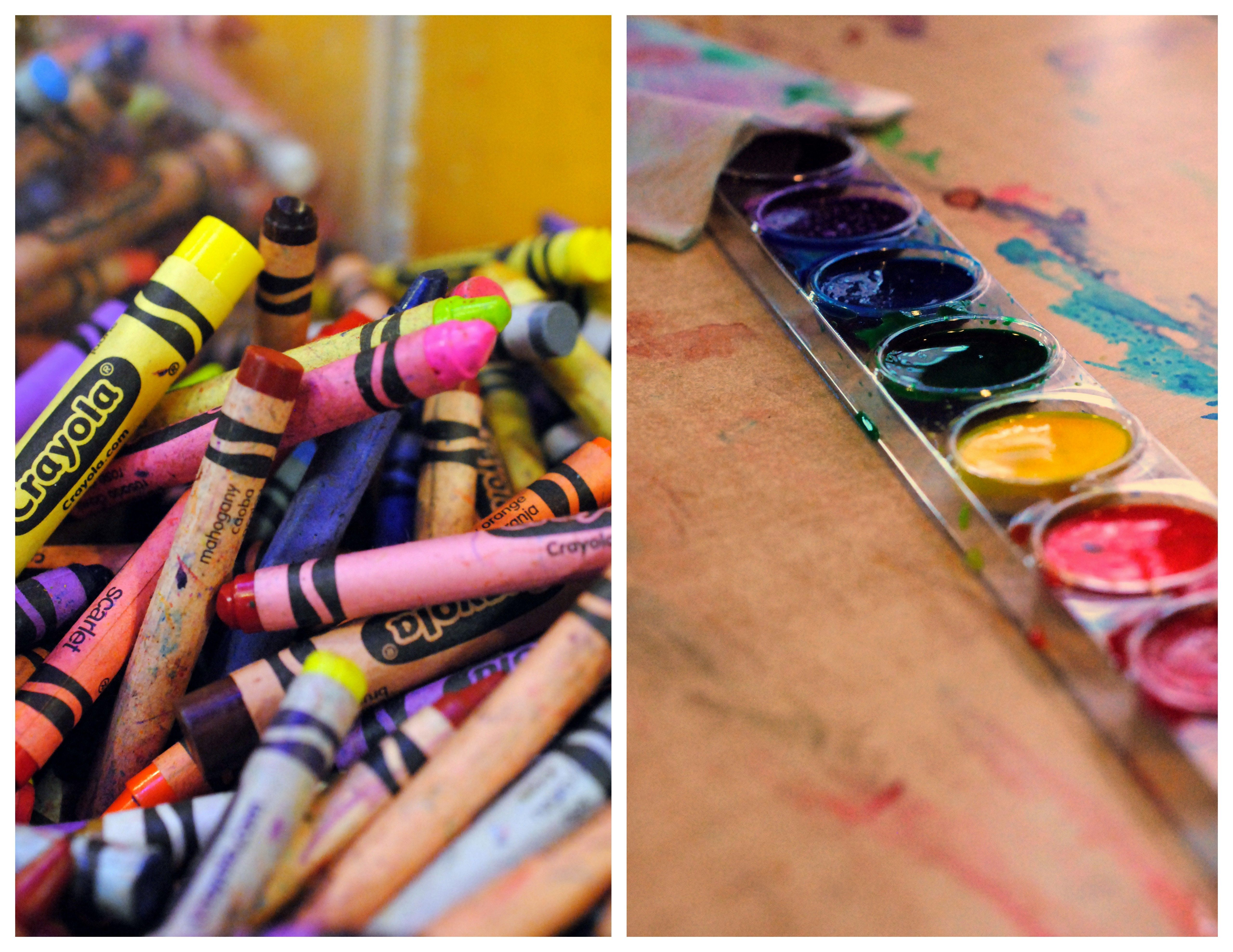Paint and Crayons at the Crayola Experience | Art stuff | Pinterest ...