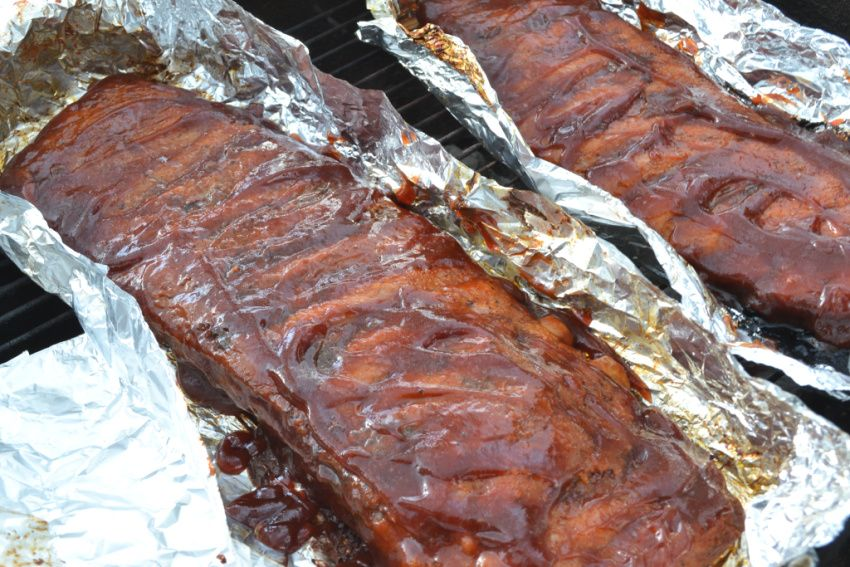 How To Grill Ribs Ribs On Grill Ribs On Gas Grill Grilled Meat Recipes