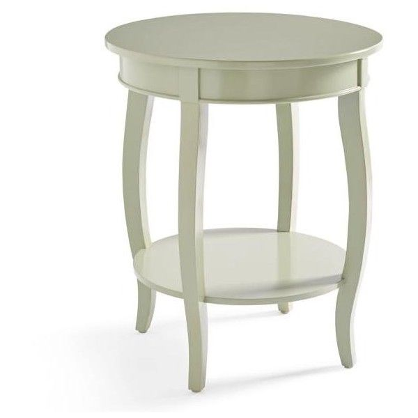 Warwick Side Table 470 Brl Liked On Polyvore Featuring Home Furniture Tables Accent Tables Paint White Round Tables White Accent Table Round Side Table