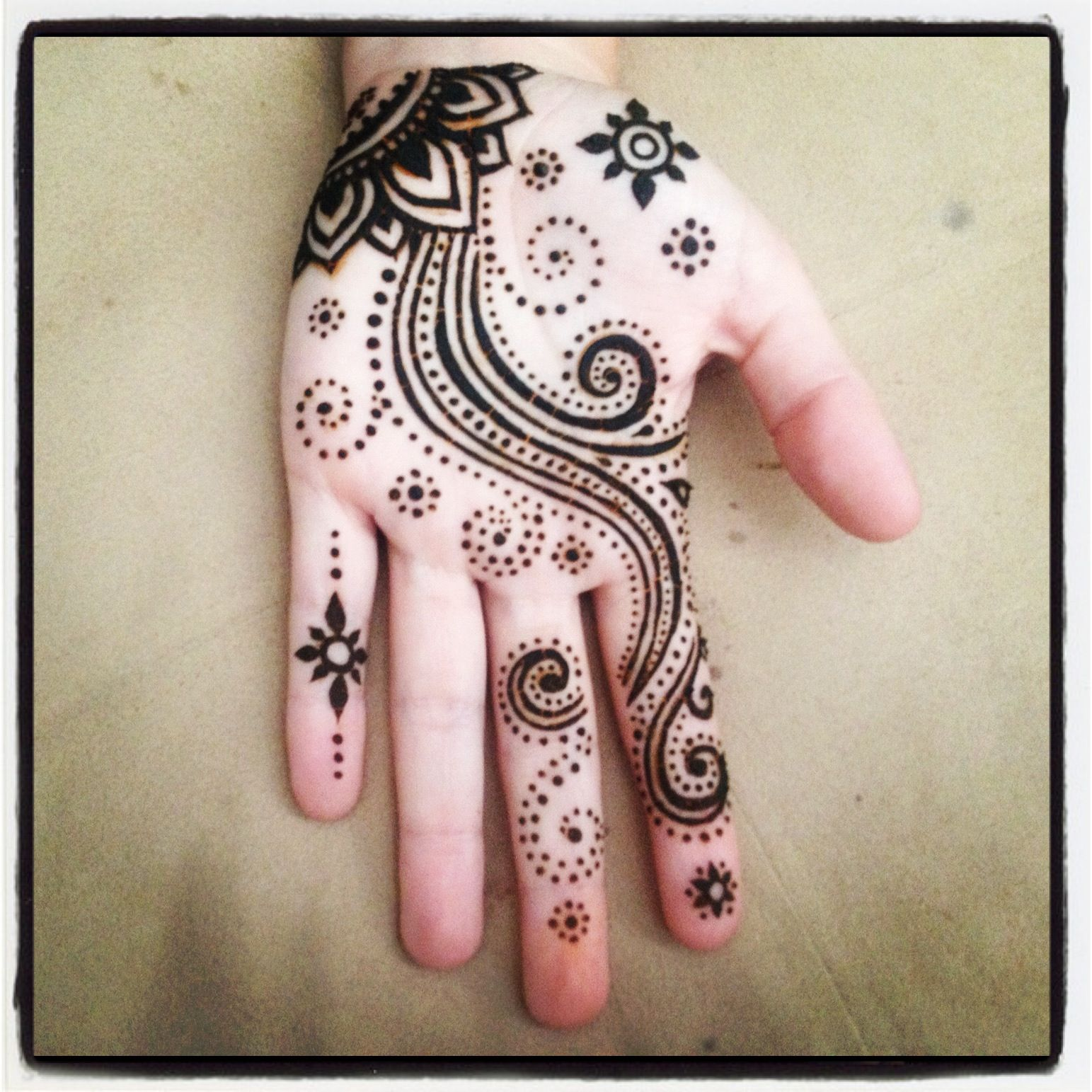 Henna Tattoo Designs Palm: Love This Henna On Erin Boubel For Burning Man!