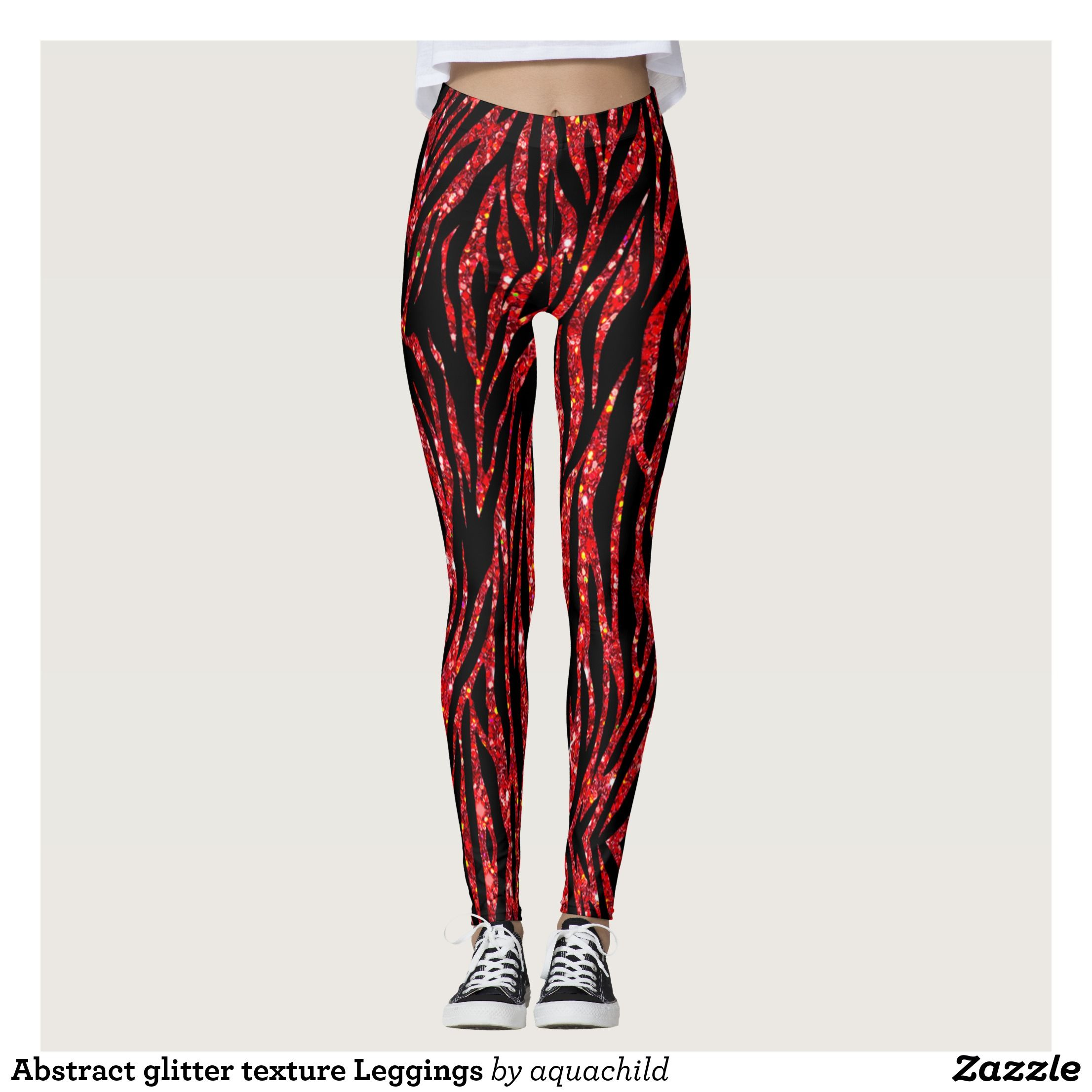 61faf7ca5b Abstract glitter texture Leggings | Zazzle.com in 2019 | jeans ...