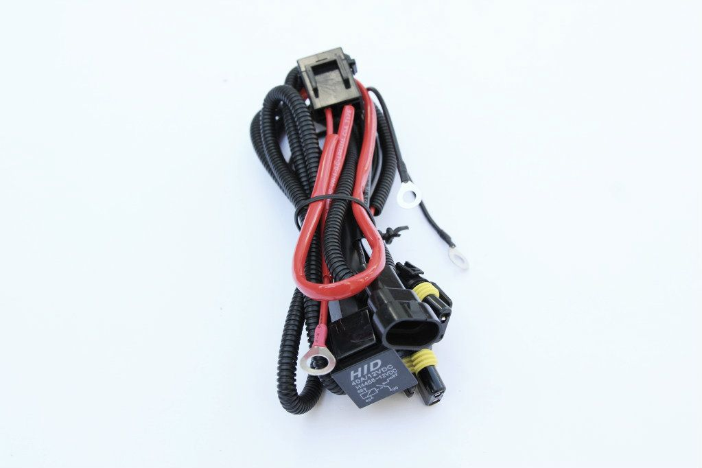 Hid Wiring Harness  U0026 Relay Hb4  9006 12v
