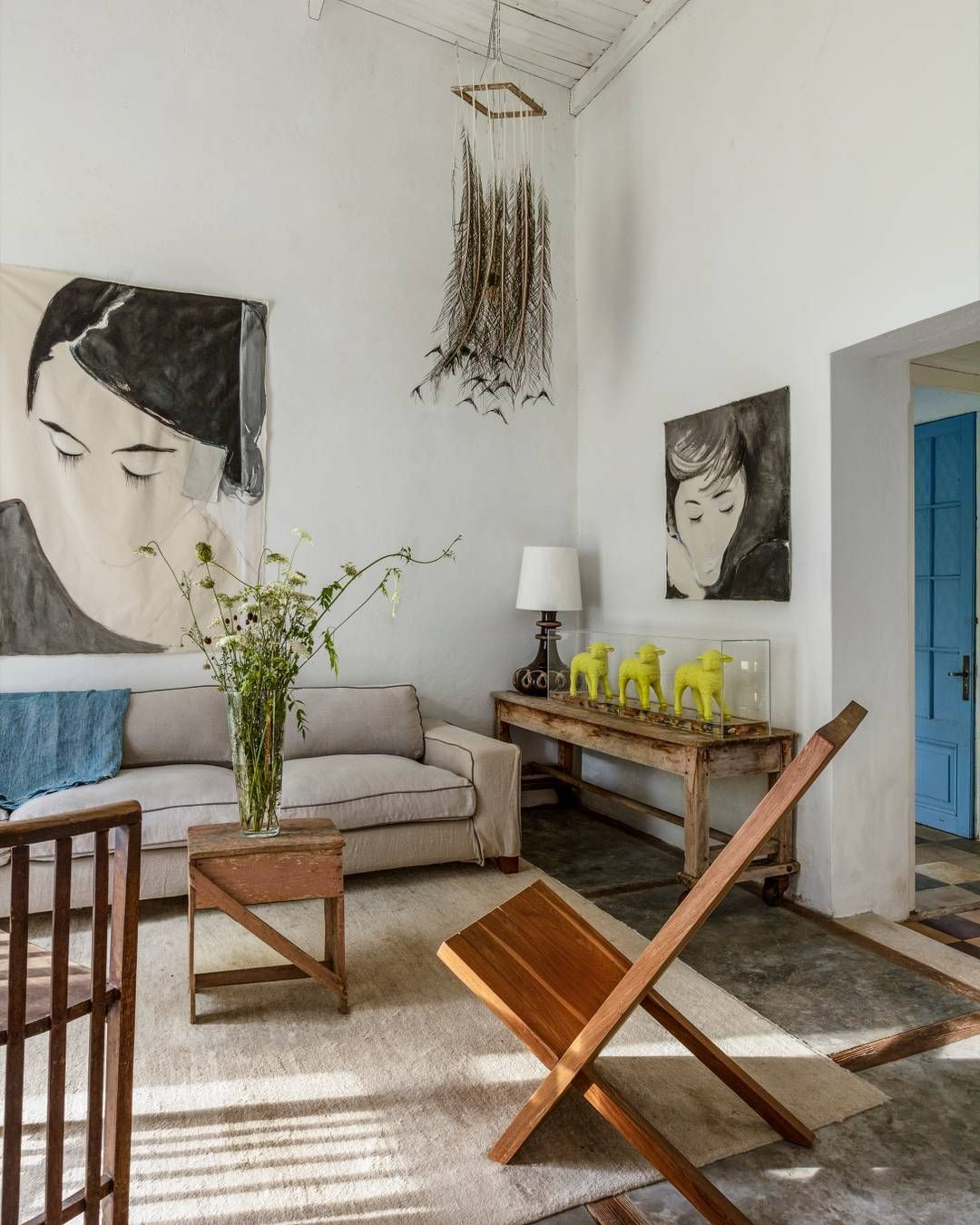 a uruguay home is appealingly eclectic yet personal photo