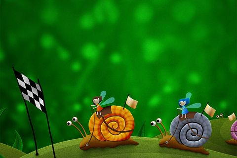 Snail Racing by VladStudio (Full size after the jump)