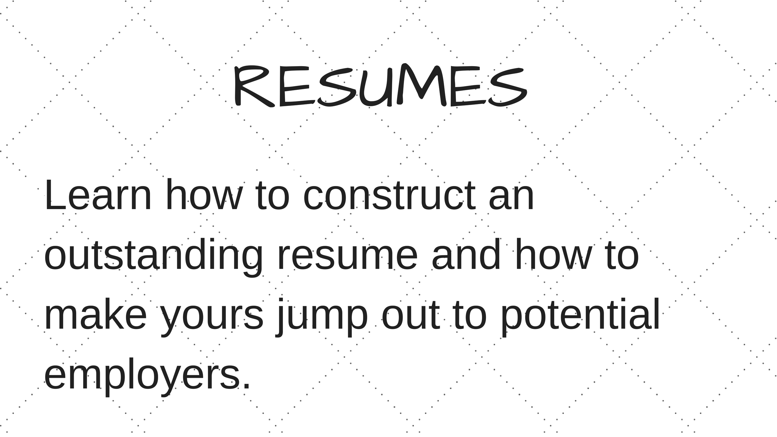 How To Construct A Resume Resumes How To Write A Resume How Do I Write A Resume Resume .