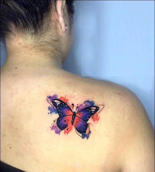 Photo of 50 Really Beautiful Butterfly Tattoos Designs And Ideas With Meaning