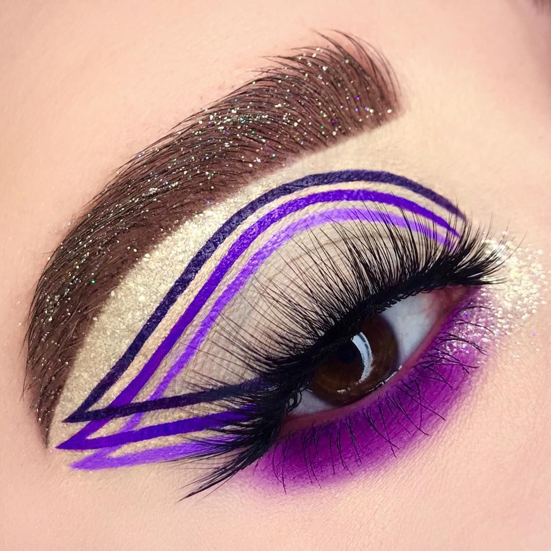 "7fec7fd8934 🌈Alexa Nicoletti🌈 on Instagram: ""✨💜PERFECT ILLUSION💜✨Lashes www. dodolashes.com use code STAR for a discount lashes start at $5.00"