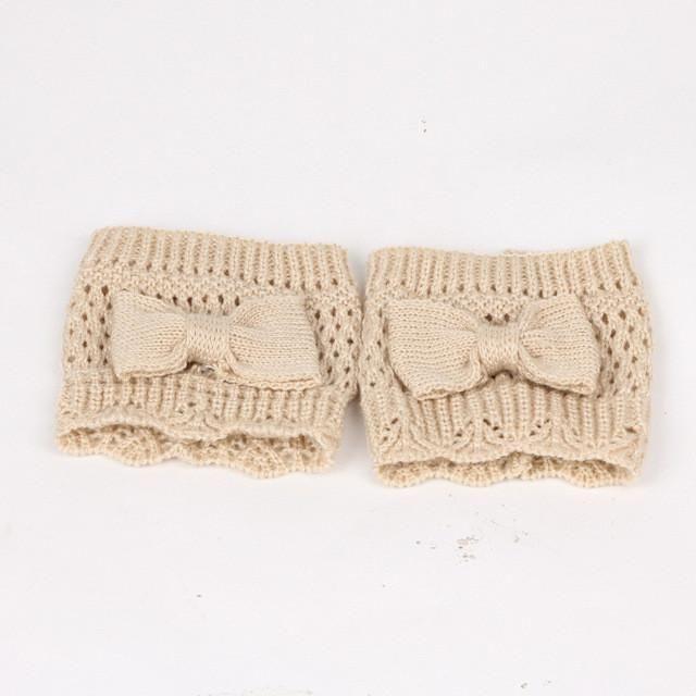 Warm Knitted Leg Warmer Socks | Products | Pinterest