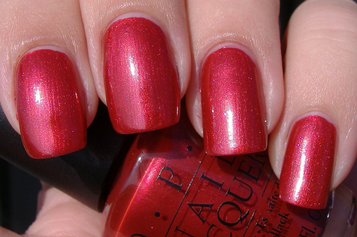Opi Infinite Shine You Can Count On It Nails Of The Week You Can Count On It By Opi How To Do Nails Nail Paint Shades Nails