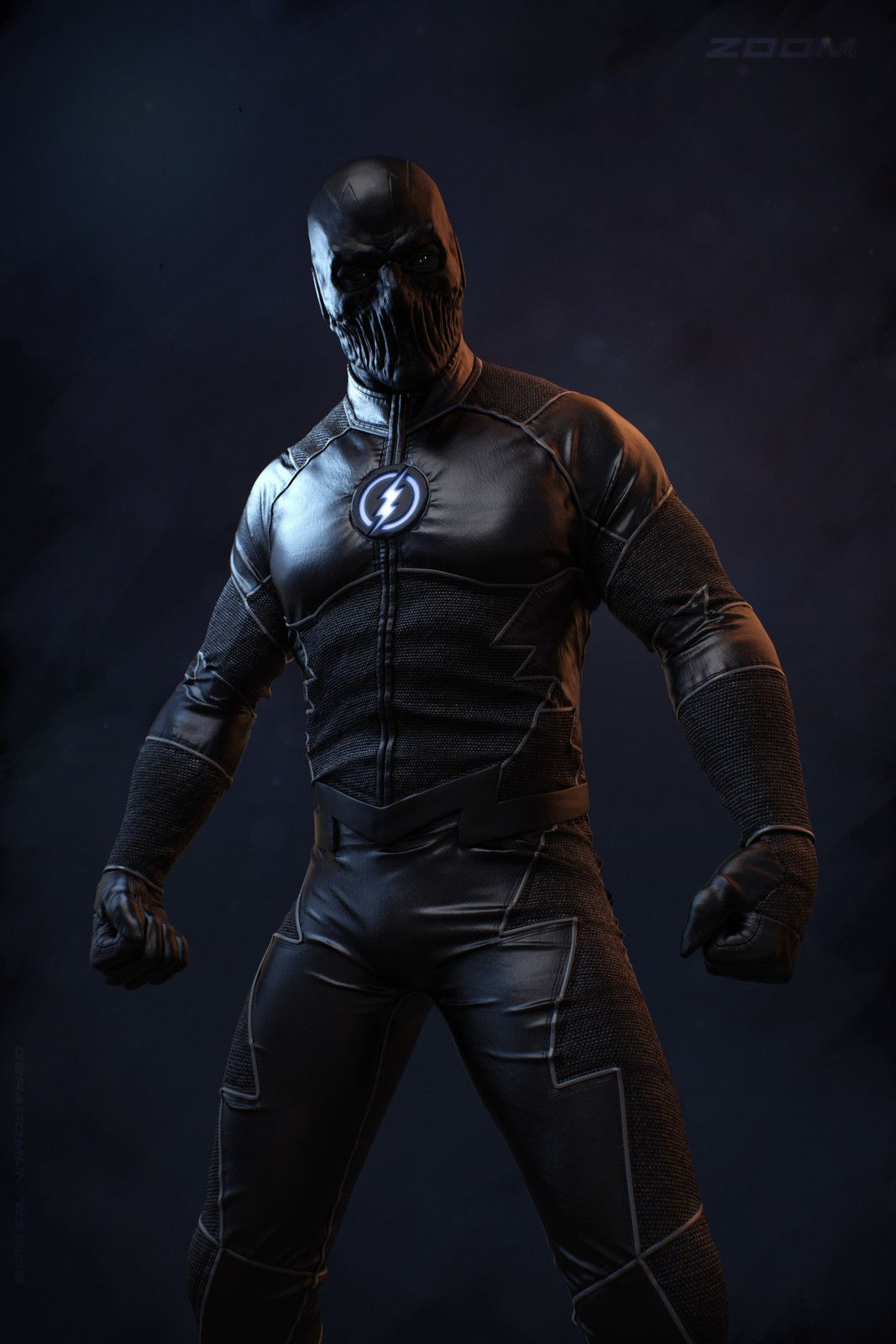 Zoom character inspired by the Flash TV Series, Gerard